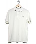 LACOSTE(ラコステ)の古着「シリコンワニポロシャツ」|ホワイト