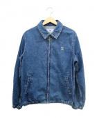 HBNS(ハバノス)の古着「デニムスイングトップ」|ブルー