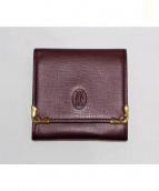 Cartier(カルティエ)の古着「コインケース」|ボルドー
