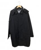 MINOTAUR(ミノトール)の古着「ウォータープルーフストレッチコート」|ブラック