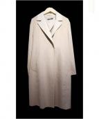 LAUTRE AMONT(ロートレアモン)の古着「ビーバーチェスターコート」 ベージュ