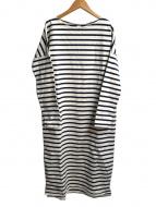 SEA(シー)の古着「ボーダーバスクシャツドレス」