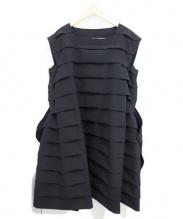 COMME des GARCONS(コムデギャルソン)の古着「デザインワンピース」|ブラック