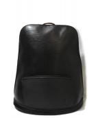 LOUIS VUITTON(ルイ・ヴィトン)の古着「ゴブラン/リュック」|ブラック