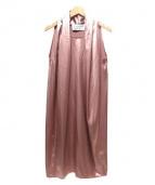 gianluca capannolo(ジャンルカ カパニョーロ)の古着「シフトワンピース」|ピンク