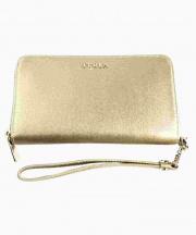 FURLA(フルラ)の古着「リストレット付財布」 ゴールド