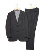 BURBERRY BLACK LABEL(バーバリー・ブラックレーベル)の古着「BBチェック2Bスーツ」 ブラック