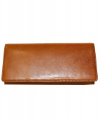 cocomeister(ココマイスター)の古着「パティーナ 長財布」|ブランデー