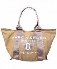 MARC JACOBS(マークジェイコブス)の古着「ニューロゴトートバッグ」|モカ