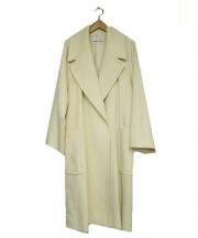 EN ROUTE(アンルート)の古着「オーバーサイズAラインウールコート」|オフホワイト
