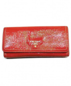 PRADA(プラダ)の古着「長財布」|オレンジ