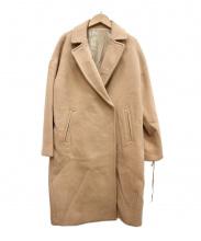 The DUFFER of ST.GEORGE(ザダファーオブセントジョージ)の古着「メルトンビッグコート」|キャメル
