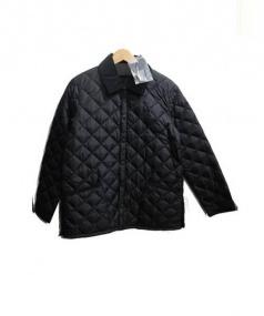 Barbour(バーブァー)の古着「キルティングジャケット」|ブラック