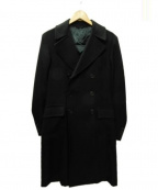 Belvest(ベルベスト)の古着「ダブルチェスターコート」|ネイビー