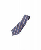 HERMES(エルメス)の古着「シルクネクタイ」 ブルー