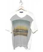 COMME des GARCONS HOMME(コムデギャルソンオム)の古着「プリントTシャツ」|ホワイト
