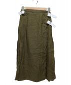 ONEIL OF DUBLIN(オニール オブ ダブリン)の古着「リネンラップスカート」