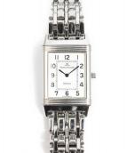 JAEGER LE COULTRE(ジャガールクルト)の古着「手巻き腕時計」|シルバー
