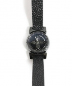LOUIS VUITTON(ルイ・ヴィトン)の古着「クォーツ腕時計」|ブラック