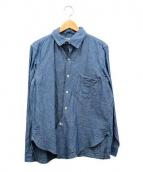 JOHN GLUCKOW(ジョン グラッコー)の古着「プロフェッサーシャツ」 ブルー