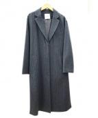 CLANE(クラネ)の古着「サイドスリットチェスターコート」|グレー
