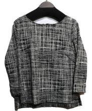 BOSCH(ボッシュ)の古着「ジャガードジャージーカットソー」|ブラック
