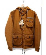 HOUSTON(ヒューストン)の古着「フーデッドコート」|ブラウン