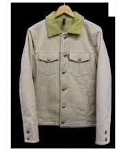 glamb(グラム)の古着「Frank corduroy JKT」|ベージュ
