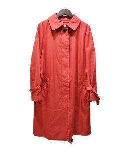 COACH(コーチ)の古着「ステンカラーコート」 レッド