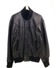 ATTACHMENT(アタッチメント)の古着「シープスキンレザージャケット」|ブラック