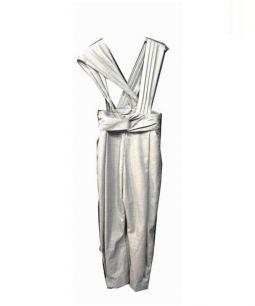 RACHEL COMEY(レイチェル コーミー)の古着「サロペットワイドパンツ」|グレー