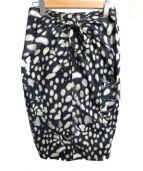Max Mara(マックスマーラ)の古着「リボンタイトスカート」|ブラック