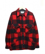ISABEL MARANT ETOILE(イザベルマランエトワール)の古着「バッファローチェックジャケット」|レッド×ブラック