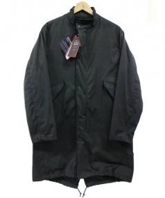BEAUTY&YOUTH(ビューティアンドユース)の古着「小松精練モッズコート」|ブラック