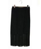 Repetto(レペット)の古着「プリーツスカート」|ブラック