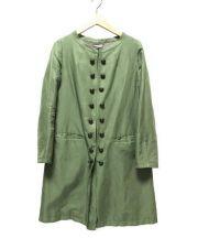 KEITA MARUYAMA(ケイタマルヤマ)の古着「ナポレオンコート」|オリーブ