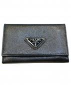 PRADA(プラダ)の古着「カードケース」|ブラック