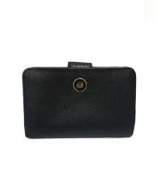 LOEWE(ロエベ)の古着「ロゴクリップ2つ折り財布」 ブラック