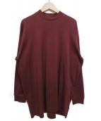 CLANE(クラネ)の古着「バックロングカットソー」|ボルドー