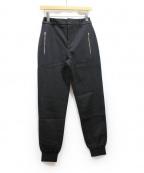 MCQ(マックキュー)の古着「裾リブパンツ」 ブラック
