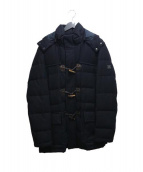 HETREGO(エトレゴ)の古着「ウールダウンジャケット」|ネイビー