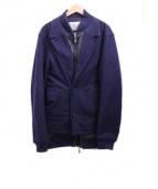 Casely-Hayford(ケイスリーヘイフォード)の古着「レイヤードジャケット」|ネイビー