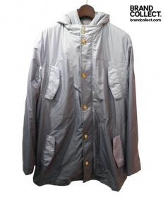 LOUIS VUITTON(ルイ・ヴィトン)の古着「グラデーションモッズコート」|グレー