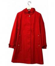 Traditional Weatherwear(トラディショナルウェザーウェア)の古着「フードロングコート」|レッド