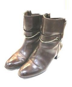 SARTORE(サルトル)の古着「ショートブーツ」|ブラウン