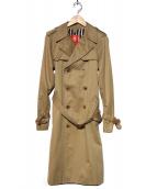 DEUXIEME CLASSE(ドゥーズィエムクラス)の古着「ライナー付ギャバトレンチコート」|ベージュ