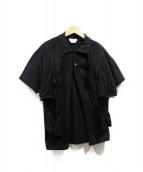 COMME des GARCONS(コムデギャルソン)の古着「ポロデザインカーディガン」|ブラック
