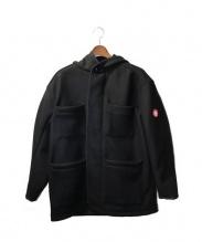 C.E(シーイー)の古着「WOOL BUTTON UP COAT」|ブラック