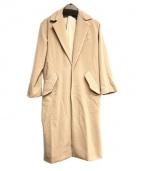 so1:1(ソウワンバイワン)の古着「梳毛ウールパイルくしゅ衿コート」 ベージュ
