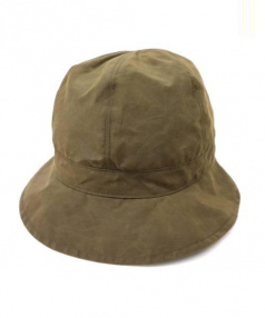 KIJIMA TAKAYUKI(キジマタカユキ)の古着「Cotton Polyester Hunter Hat」|オリーブ